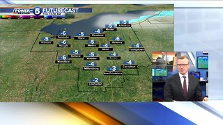 The latest: Trent Magill gives us an update on Wednesday's arctic blast