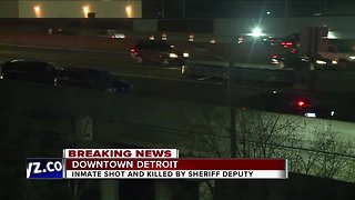 Inmate shot & killed while trying to disarm sheriff's deputy