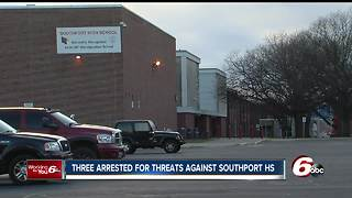 Three students arrested for making social media threats against Southport High School - Video
