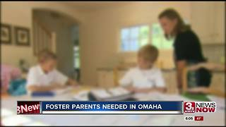 More foster parents needed in Omaha - Video