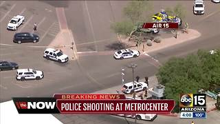 Police involved in shooting near Metrocenter Mall in Phoenix - Video
