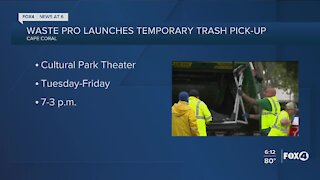City of Cape Coral partnering with Waste Pro on trash issue