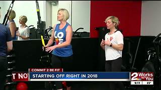Commit 2 Be Fit: Starting Off Right in 2018 - Video