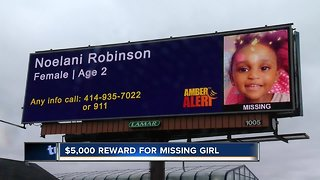 Search continues for 2-year-old Noelani Robinson - Video