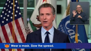 Governor Gavin Newsom provides an update on the state's response to the COVID-19 outbreak.