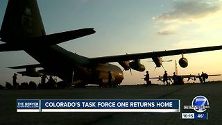 Colorado Task Force 1 returns home after back-to-back hurricanes - Video