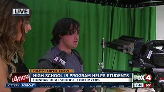 High School IB Program helps students - Video