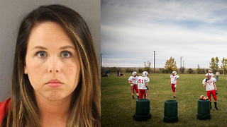 High School Football Coach's Wife ARRESTED for Raping a Player - Video