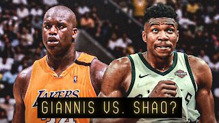 Who's better, Giannis Antetokounmpo or Shaquille O'Neal?