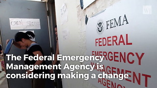 FEMA Considers Lifting Ban on Disaster Aid to Church Buildings - Video