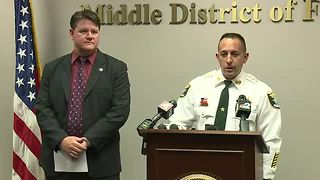 Press Conference: Lee County Sheriff's Office discuss arrest of Lois Riess in Texas