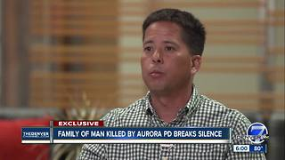 Stepson of man killed by Aurora police recounts shooting: 'He lived a hero; he died a hero' - Video