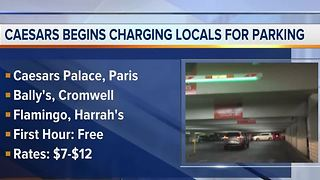 No more free parking for locals at Caesars properties