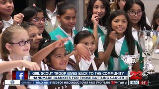 Girl Scout Troop helps those battling cancer