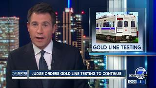 Judge allows testing to resume immediately on issue-plagued RTD G-Line - Video