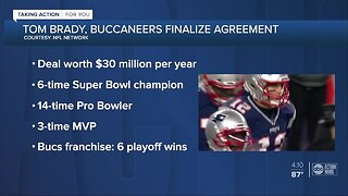 6-time Super Bowl champion Tom Brady expected to sign with the Bucs