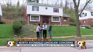North Avondale homeowners must pay to stop landslides