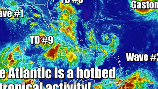 Hurricane hotbed in the Atlantic - Video