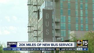 Valley Metro adding new routes in the Valley - Video