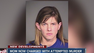 Mom who injected feces into son's IV now charged with attempted murder - Video