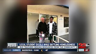 Kern's Homeless Crisis: Local student excels while battling homelessness