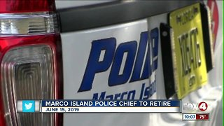 Marco Island police chief is retiring