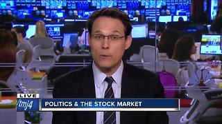 What does a market turn mean for President Trump?