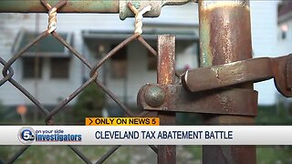 Cleveland residents demand change in city tax abatement guidelines