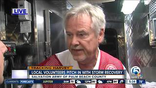 Salvation Army of Palm Beach County deploys mobile kitchen to Texas - Video