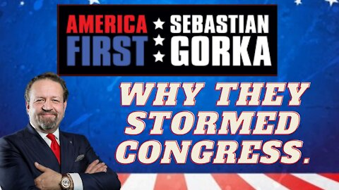 Why they stormed Congress. Sebastian Gorka on AMERICA First