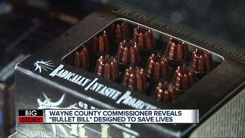 Wayne Co. Commissioner proposes 'Bullet Bill' to limit sale of bullets