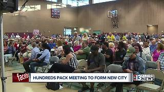 Heavy opposition to plan for east Las Vegas city - Video