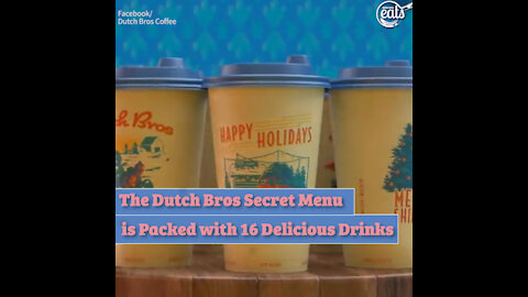 The Dutch Bros Secret Menu is Packed with 16 Delicious Drinks