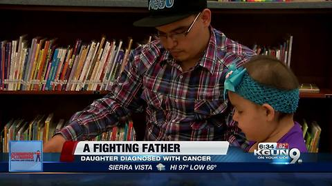 Father dedicates himself to caring for sick daughter