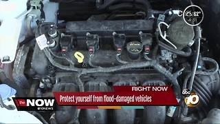 Protect yourself from flood-damaged vehicles - Video