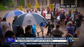 Immigrant children separated from parents - Video