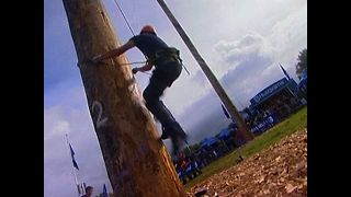 World Pole Climbing Championships - Video