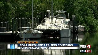 Burglars steal $5,000 in parts from Naples boat - Video