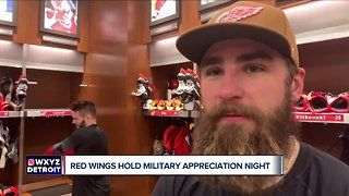 Red Wings hold Military Appreciation Night