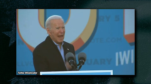 """SCARY: Biden Encourages GA Voters To Fight One More Day, Help Win Senate Seats and """"Change America"""""""