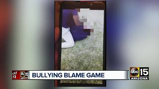 Laveen mom says son suspended after being assaulted - Video