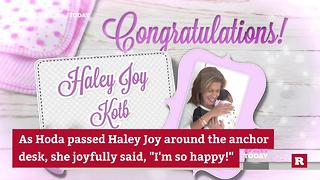 Hoda and baby Haley Joy on Today | Rare People - Video