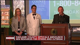 Oakland County Executive Dave Coulter declares state of emergency amid pandemic