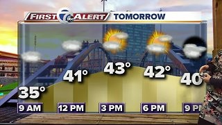 7 First Alert Forecast 1024 - Noon - Video
