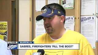 Buffalo firefighters team up with SMART to fill the boot - Video
