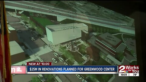 $25M in rennovations planned for Greenwood Cultural Center