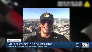 Man sues Scottsdale police for beating