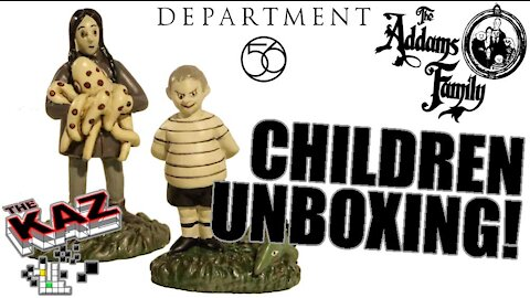 The Addams Family Kids Figurines from Department 56