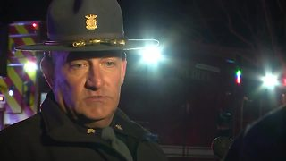 Police give update on Indiana State Trooper shot in the head in Jeffersonville while pursuiing suspect - Video