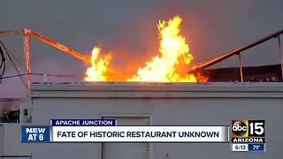 Fate of historic Apache Junction restaurant unknown - Video